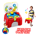 Basic Skill Activity Chair Educational Musical Baby Toy