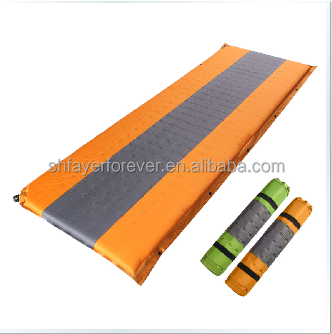 hot sale self-inflatable mat / camping air mattress / inflatable sleeping mattress