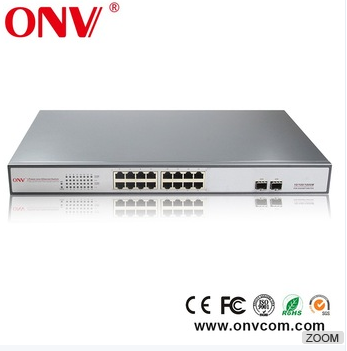 16 ports poe SMB switch oem for USA UK INDIA market