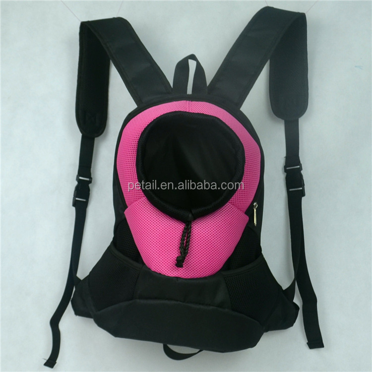 Colorful pet bag easy to carry dog carrier