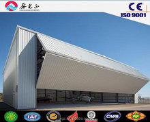 XGZ steel structure Prefabricated aircraft hangar,airplane hangar price