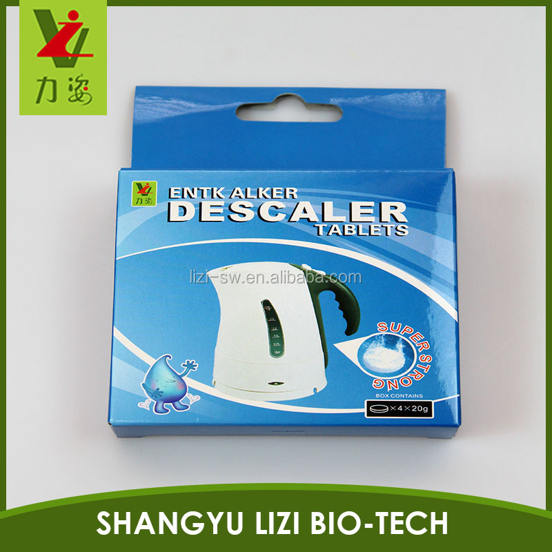 US kitchen Kettle Descaler clean Tablet