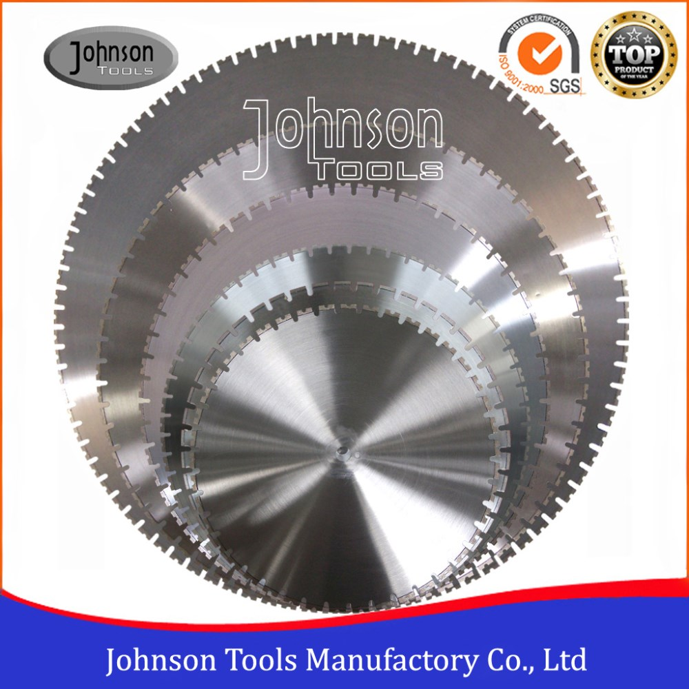 600-1600mm Diamond Saw Blade for Wall Saw Concrete Cutting