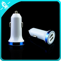 multiple mini car mobile battery usb charger with CE FCC ROHS certification