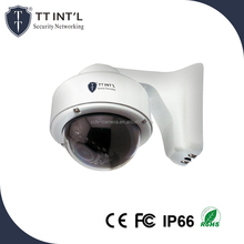 4.0mp IP Poe Cameras Varifocal Lens Wall-mounted Standard Bracket Dome Camera