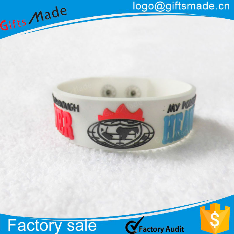 rubberband bracelet/rubber band crazy/Customized silicon armbands with logo