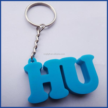 rubber 3D keychain,wholesale custom all type of rubber keychains,soft pvc keychain/rubber car keychain