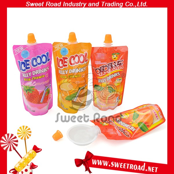 Fruit Flavor Suck Jelly Drink Candy