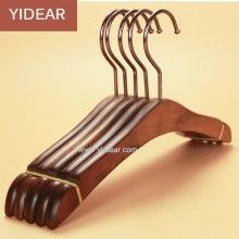 Yidear custom wooden kids coats / lady female suit / children / men wood clothes hanger