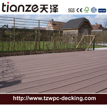 fireproof WPC Decking/solid composite decking board wpc/plastic imitation wood board