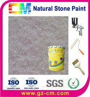 Outside Wall Coatings Natural Granite Stone Finish Paint
