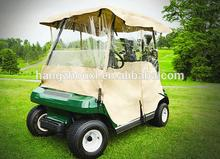 Professional travel cover non-woven golf cart cover /golf buggy rain cover with CE certificate with free samples