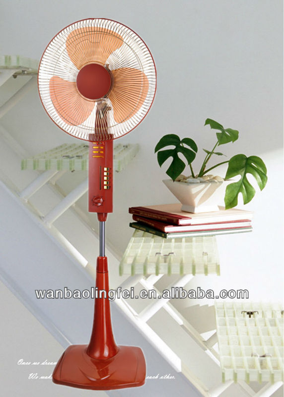 16 inch pedestal fan square base with wheel