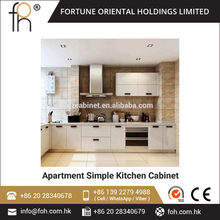 Fiber Kitchen Cabinet Kitchen Cabinet Simple Designs(FOH-MKC137)