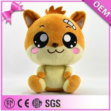 2013 en71 certified ASTM-f963 most popular cat dolls cat baby doll