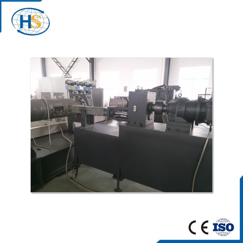 Plastic Single Screw Extruder Machinery For PP PE Film recycling