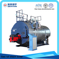 Automatic horizontal steam boiler for pharmaceutial industry