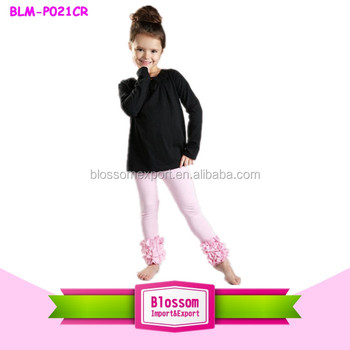 Boutique clothes girls icing pants cotton baby sock pants baby girl pants