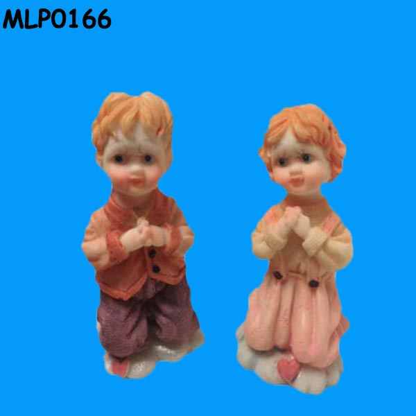 Fantasy story figurines and maidens prayed resin Flying Fairy Doll