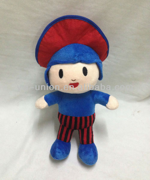 Turkey Hot-sale Stuffed Soft Plush Cartoon Toy Pirate Pocoyo