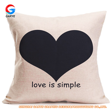 Wholesale latest custom design digital printed white 3d cushion cover