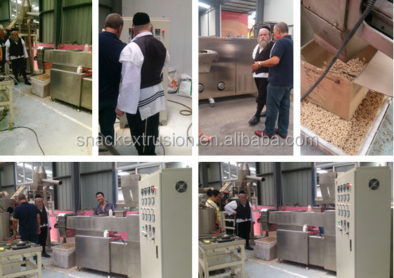 food extruder machinery Toasting Corn Flakes Machinery