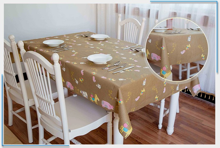 Free Design Beautiful Wedding Tablecloth Table Cover