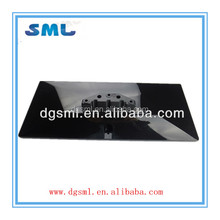 Dongguan custom LCD TV plastic spare parts / plastic base plate of LCD TV / precision led tv parts