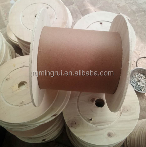 Used Empty Plywood Cable Reeling Spools for Common Use