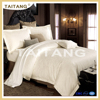 2016 new design 100% egyptian cotton flower organic bedding set for hotel
