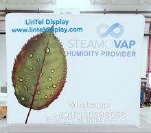 8FT advertising back wall stretch fabric trade show displays