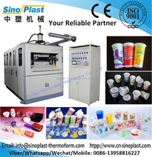 plastic plates and cups making machines, lids/bowl/container forming machine