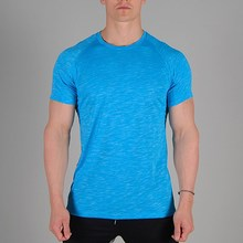 slub soft 50 cotton 50 polyester bodybuilding t-shirts