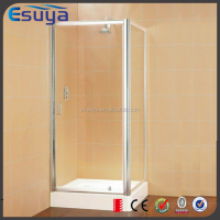 Fancy sliding door tempered high quality glass square shape shower room