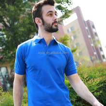 custom print with leather sleeves blank custom printed short sleeve cotton polo t-shirt