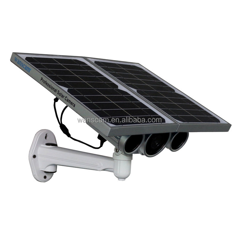 wanscam HW0029-4G security for outdoor operated outdoor powered solar security camera with sim card
