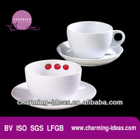 pop wholesale high quality tea cup and Saucer for sale