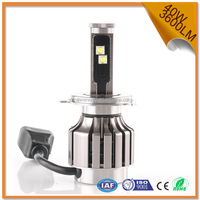 Factory supply 40W 3600LM brightness car led headlight bulb h4