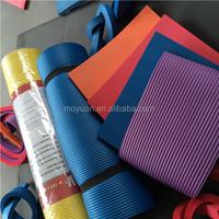 Customizing Soft Foam Nbr Rubber Pvc Epdm Multicolor Yoga Pilates Fitness Gym Mat