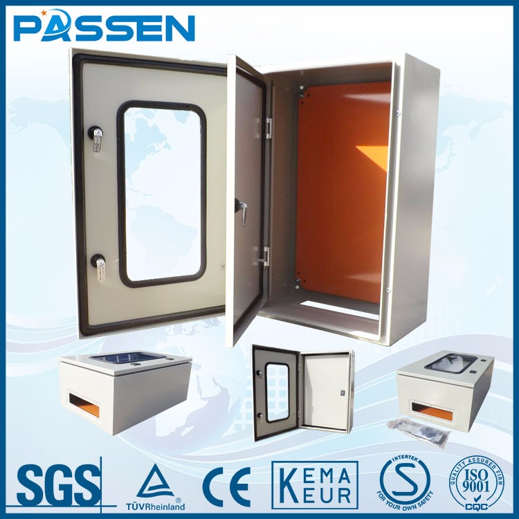PASSEN Top sale Newest design electrical stainless steel panel size of distribution board