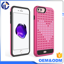 low price china mobile phone fancy diamond case Luxury Bling Diamond case for iphone 7 plus