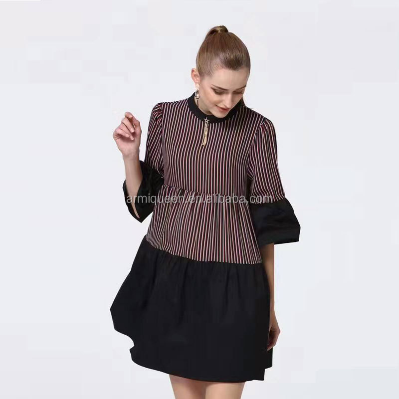 Domeir Top Quality Modern Design Mini Dress For Ballon Style