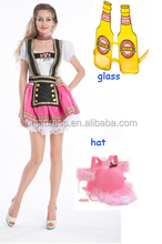 nstyles Quanzhou China manufacturer NEW Sexy Oktoberfest Bavarian German Beer Girl Maid Waitress Fancy Dress Costume S-2XL