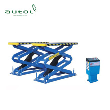 Italian hydraulic pump station Scissor car lift 300B full rise small car scissor lift 300B