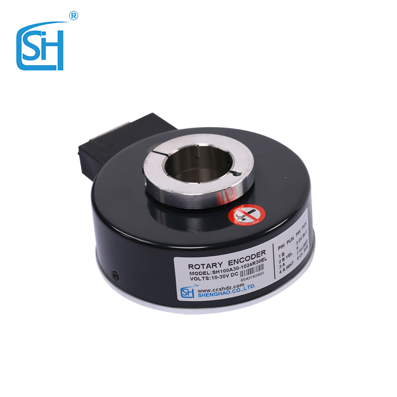 Factory Supply Elevator Use Small Order Outer diameter 100 Inner diameter 30mm incremental hollow shaft rotary encoder <strong>price</strong>