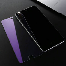 Hot Sale Anti Blue Light Tempered Glass Film For iPhone 5 SE 6 Plus 7 8G X