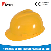 PE Industrial construction custom safety helmet ce