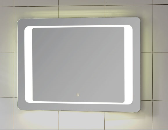 High Quality Custom Made With Touch Sensor Switch Bathroom Vanity Mirror with Lights