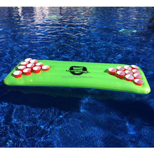 water game Inflatable Floating Beer Pong Table