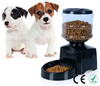5.5L Battery-Powered Automatic Pet Feeder with Voice Message Recording and LCD Screen Large Smart Dogs Cats Food Bowl Dispenser